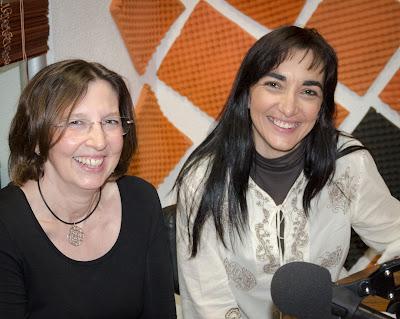 Silvia Sanz e Inmaculada López en La Odisea de Emprender