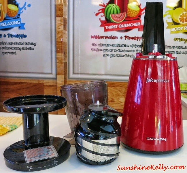 Coway Slow Juicer Fiyat : Sunshine Kelly Beauty . Fashion . Lifestyle . Travel . Fitness: Coway Juicepresso Slow Juicer