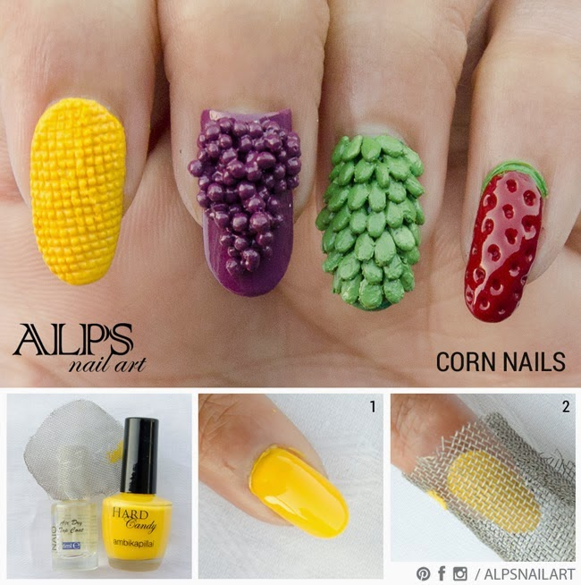 Corn nail art 3d idea and tutorial entertainment news photos corn nail art 3d ideas is also a different type of nail art that is available in most of the salons and beauty houses in corn nail art a yellow coloured prinsesfo Choice Image