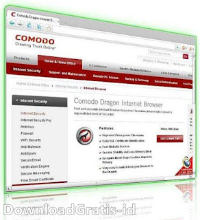 Download Web Browser Comodo Dragon
