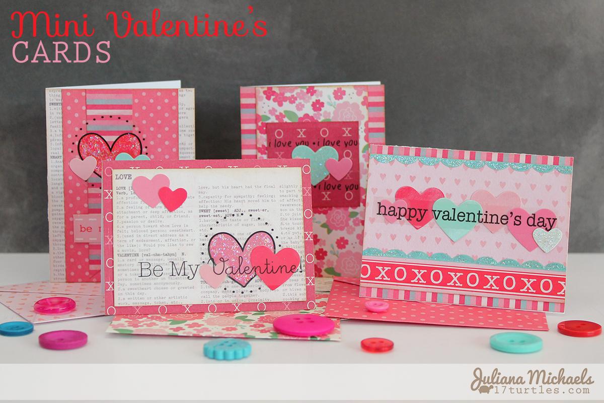 Srm Stickers Mini Valentines Cards