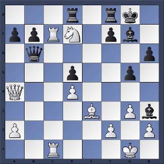 Echecs à Caen : la position après 26.Cd7??