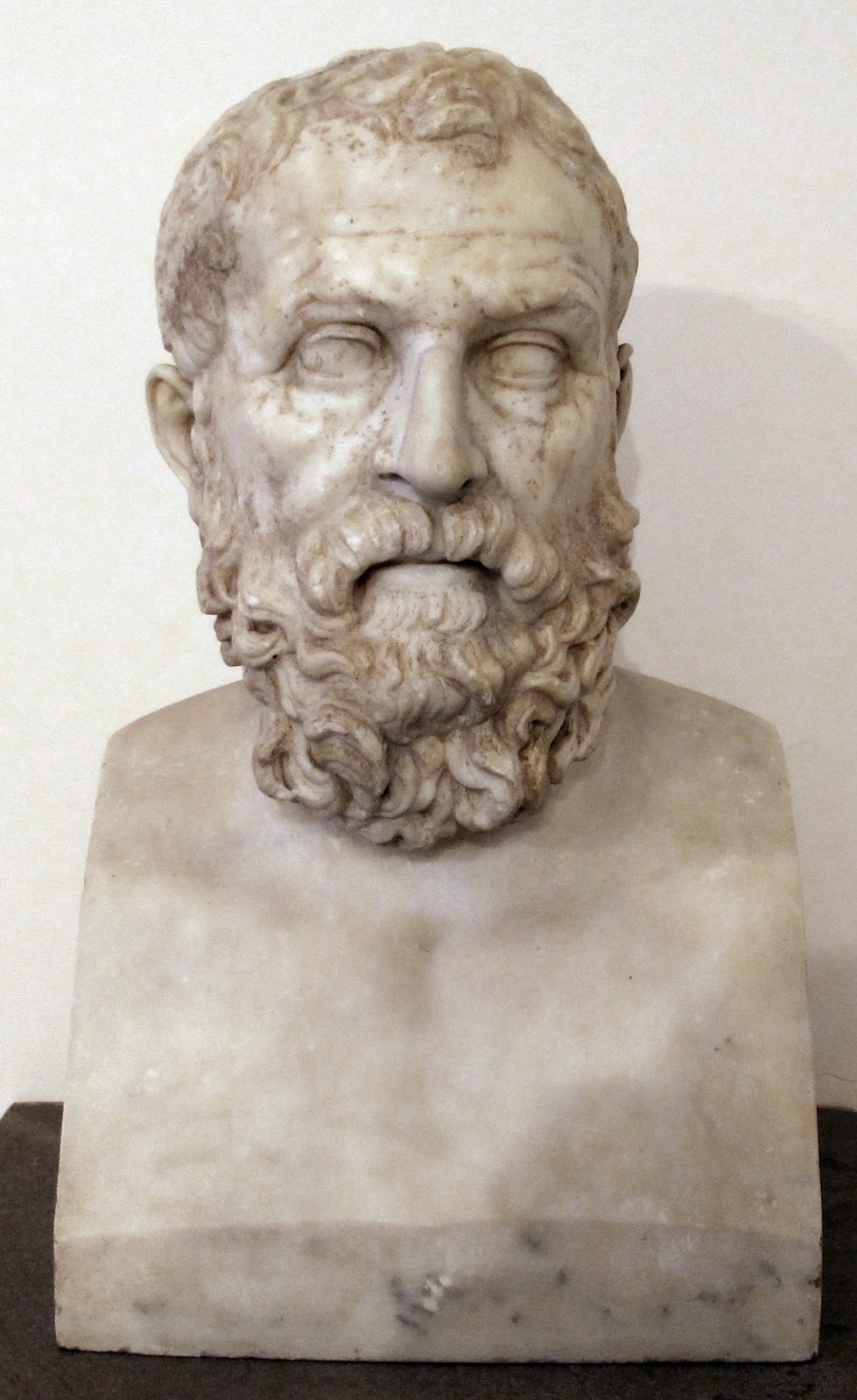 Ancient bust of Solon, purportedly