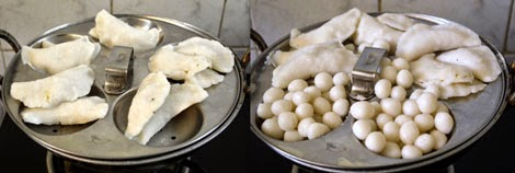 How to make Uppu Kozhukattai