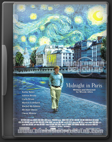 Medianoche en Paris (BRRip Español Latino) (2011)
