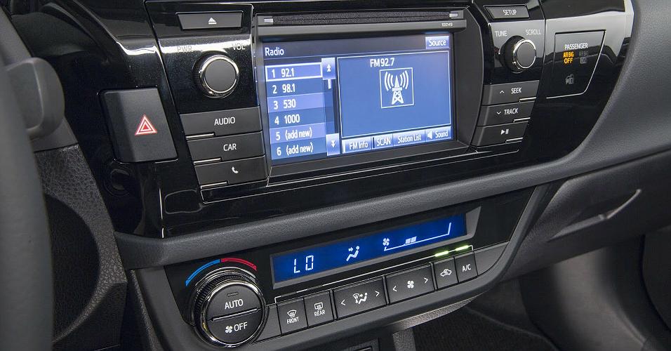 novo Toyota Corolla 2014 computador a bordo