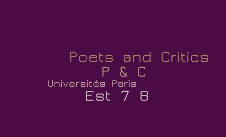 Poets and Critics 2015