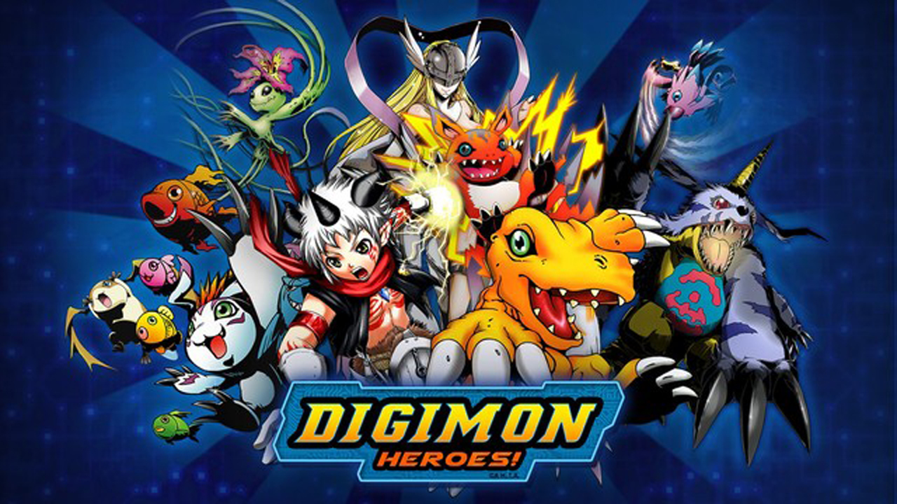 Digimon Heroes! Gameplay IOS / Android