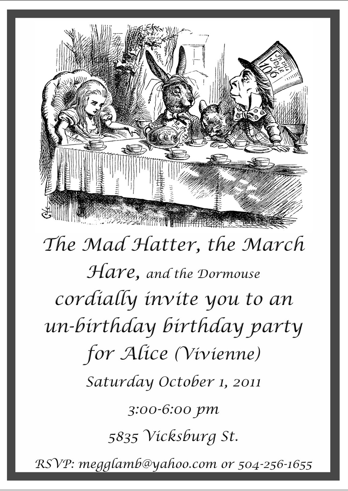 Mad Hatter Unbirthday Party! | artility: confectionery creations