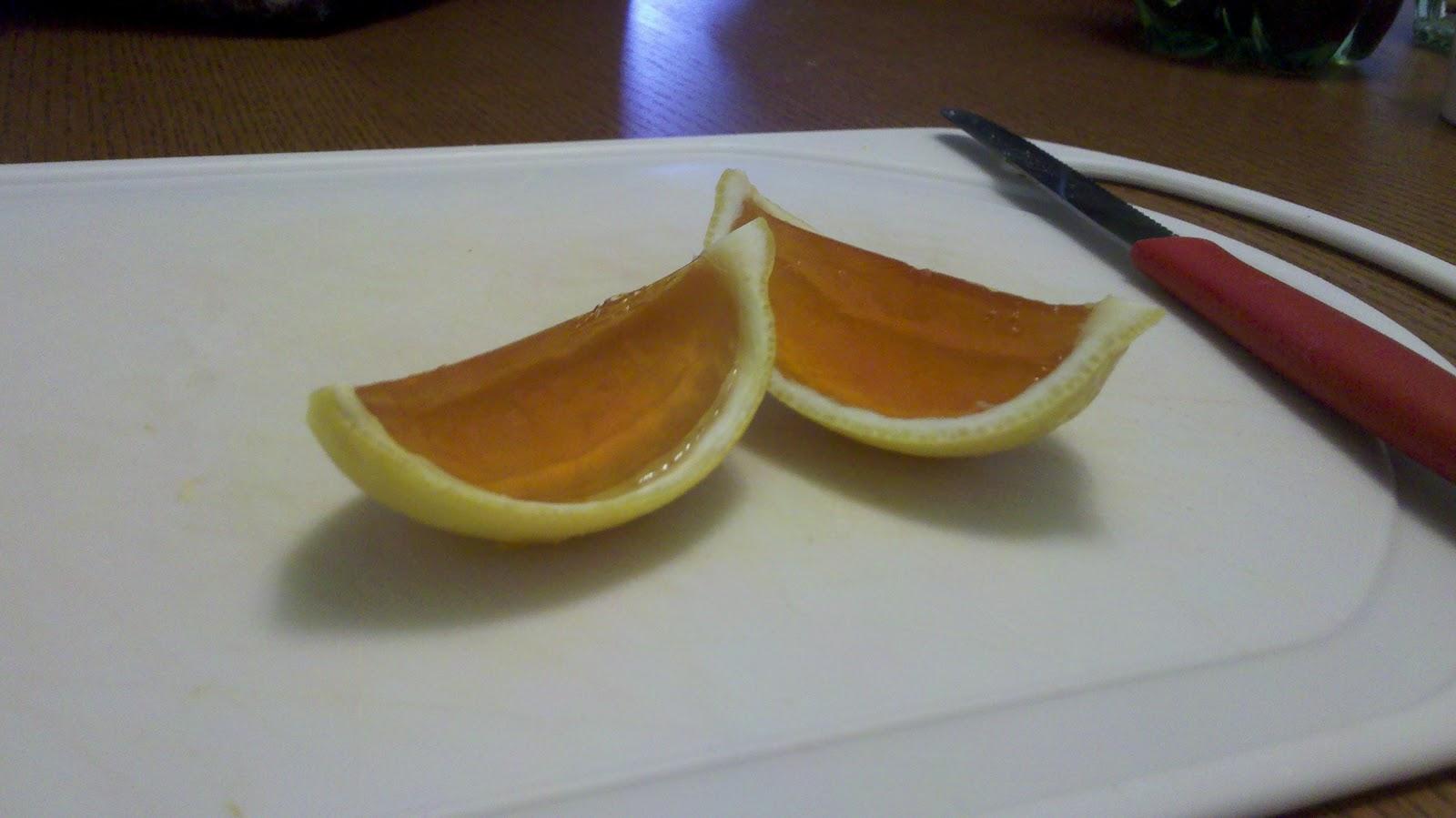 ... of lemon jell o firefly vodka and 10 lemons make the jell o normally