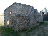 Les façanes de migdia i del nord-oest de Can Serra