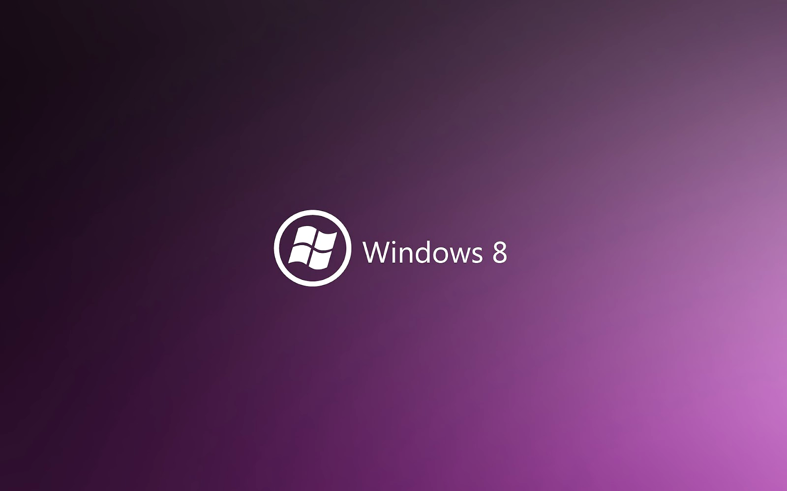 Lila Windows 8 desktopmotive