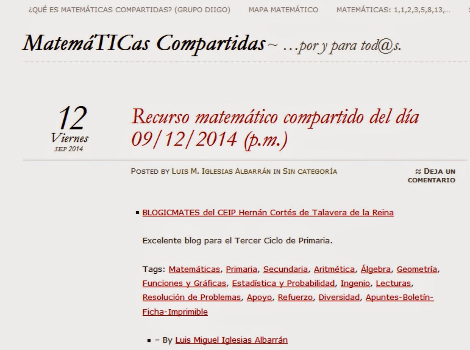 http://matematicascompartidas.wordpress.com/2014/09/12/recurso-matematico-compartido-del-dia-09122014-p-m/#comment-731
