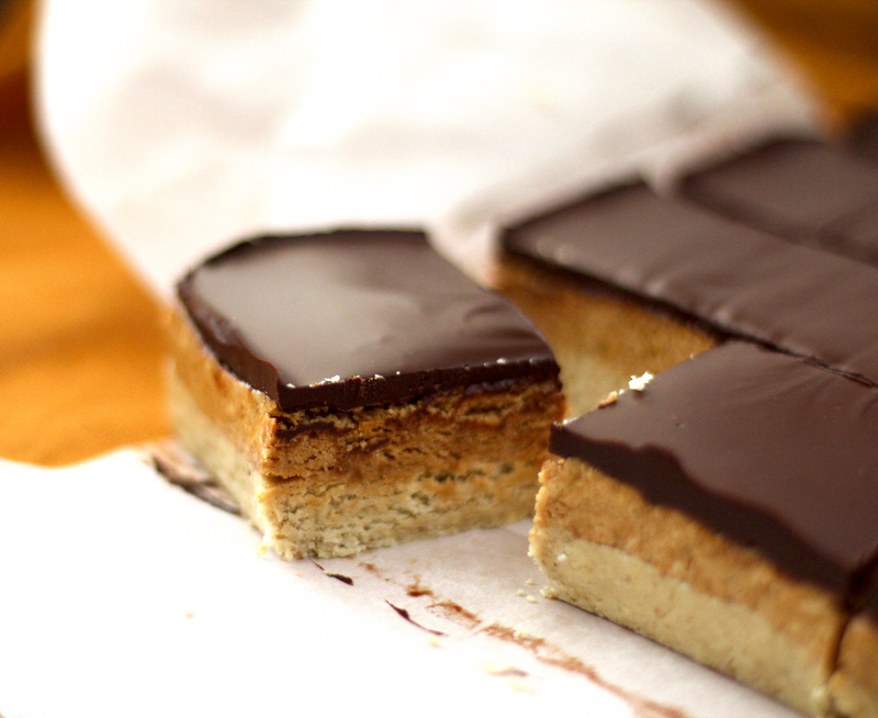 What??? Peanut Butter & Dark Chocolate Shortbread Bars can be healthy ...