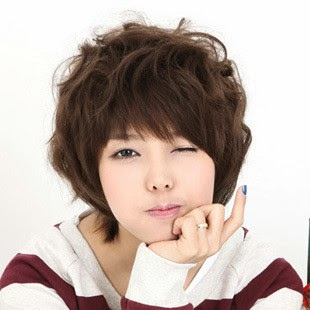 Gaya Potongan Rambut Pendek Ala Bintang Korea Tips Model Rambut - Gaya rambut pendek ala korea