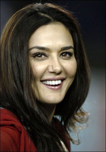 Bollywood actress Preity Zinta image stills