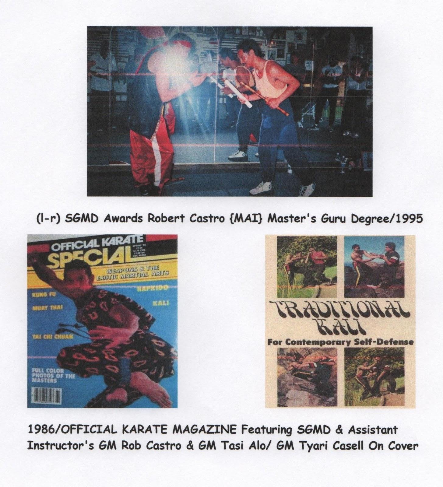 Filipino Martial Arts Adventures - Magazine cover