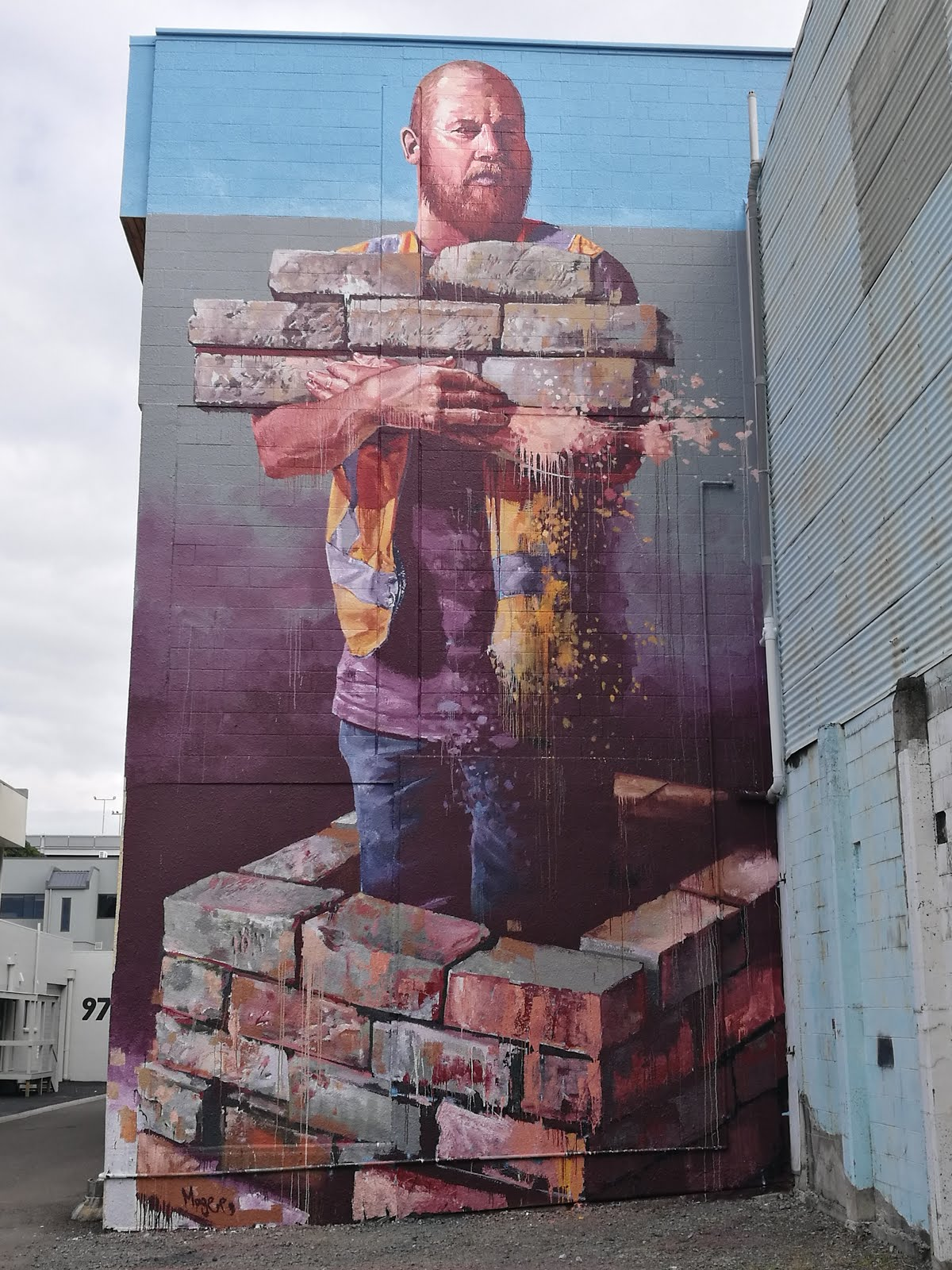 Tauranga New Zealand - Street art