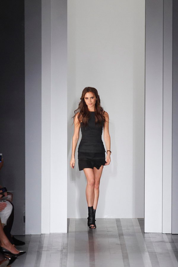 Victoria Beckham 2013 Spring And Summer In New York Fashion Week