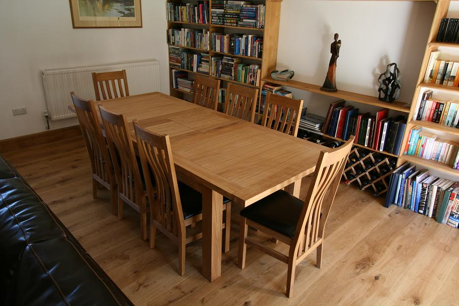 Oak Dining Room Tables