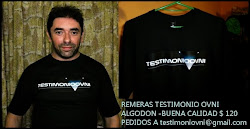 REMERA TESTIMONIO OVNI