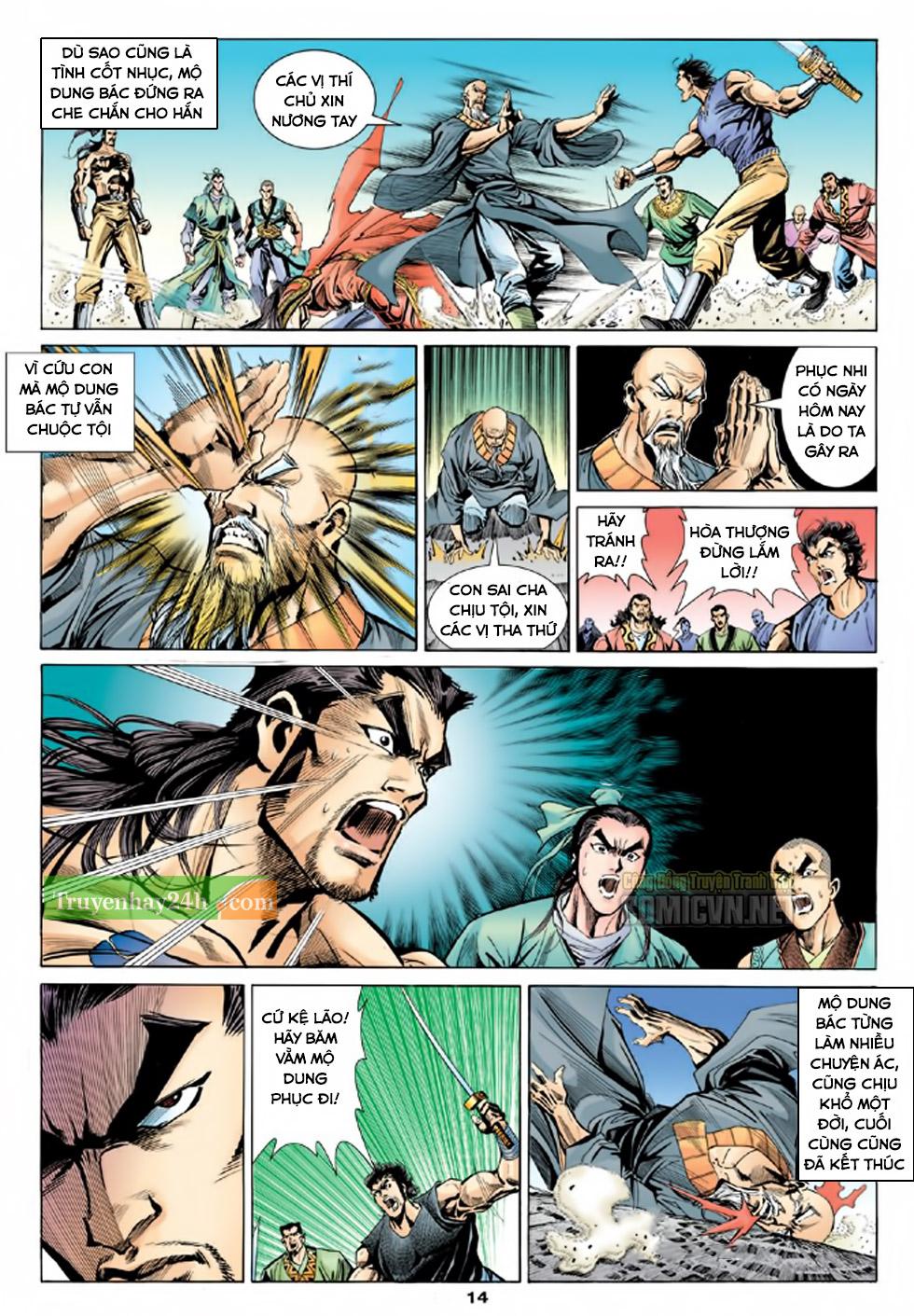 Thiên Long Bát Bộ chap 100 - Trang 15
