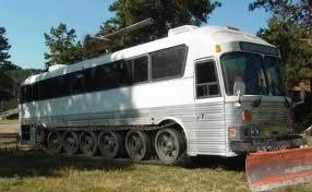 tanked bus, rv