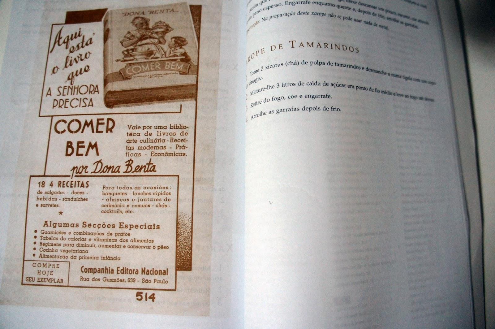 Livro para ter dona benta comer bem guardanapo de papel for Manual tecnicas culinarias