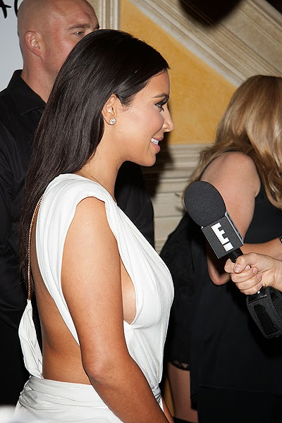 Kim Kardashian celebrated birthday 2014