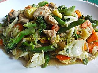 Resep Capcay Sayuran Kuah Kental Sederhana