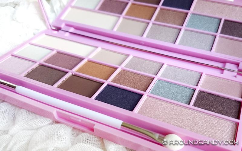 I Heart Makeup - Paleta de sombras Chocolate - Pink Fizz Maquillalia