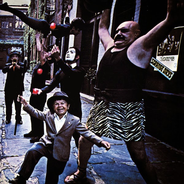 The Doors - Strange Days Cover