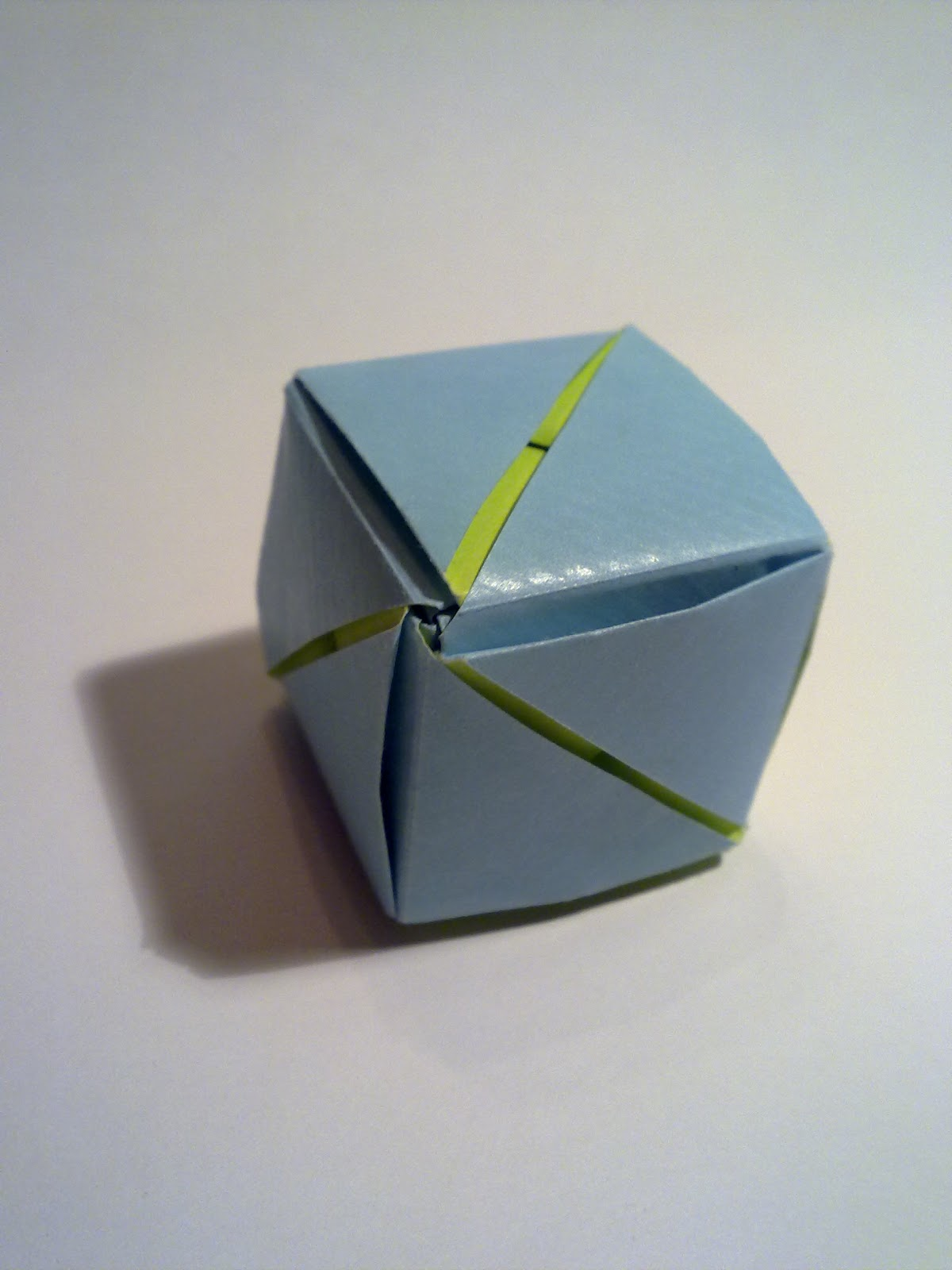 PaperBlog: Origami: Magic Rose Cube - photo#10