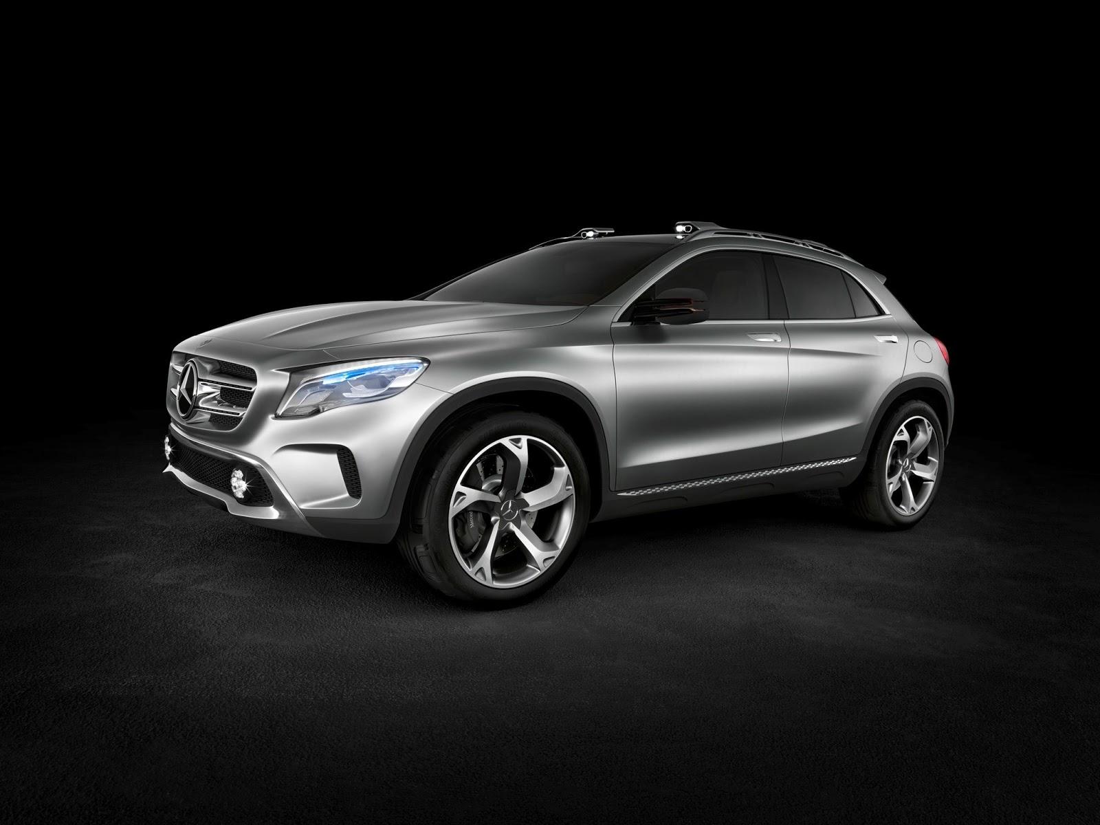 Mercedes-Benz GLA-Class 2015, 2016, 2017 Model