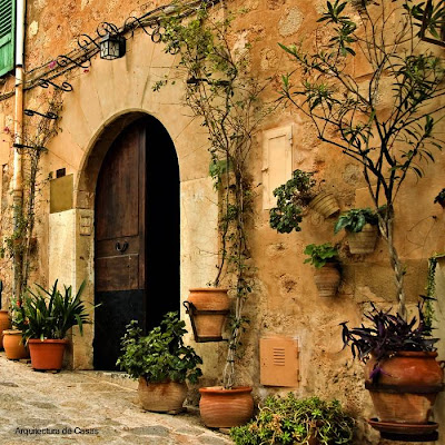 Muro y puerta antiguos