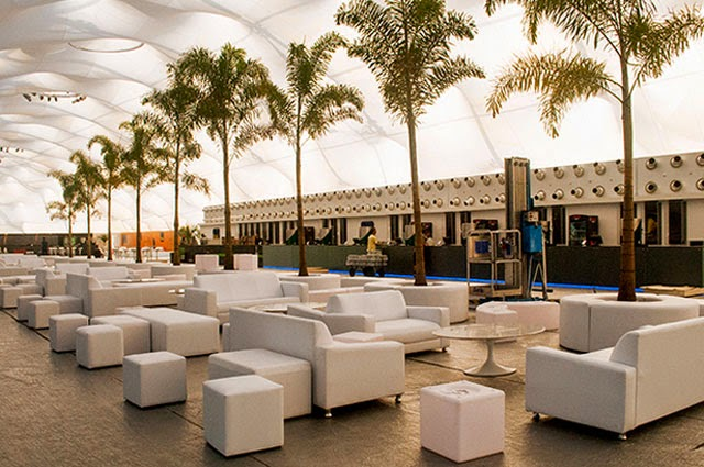 Espaço Vip da edição de 2013 do Rock In Rio