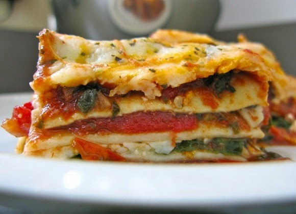Lasaña Vegetariana
