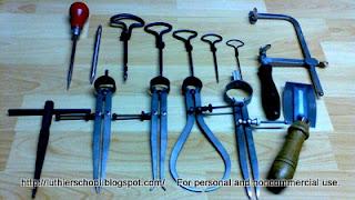 Διάφορα χρήσιμα εργαλεία χάραξης-τρυπήματος-κοπής