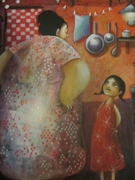 La robe rouge de nonna histoire