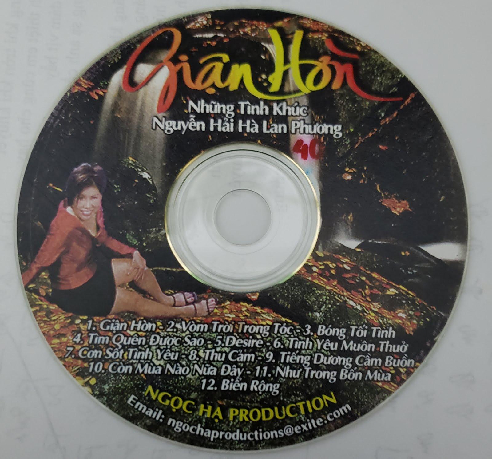Giới thiệu CD Giận Hờn