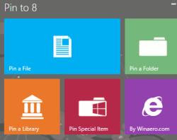 creare piastrelle in Windows 8
