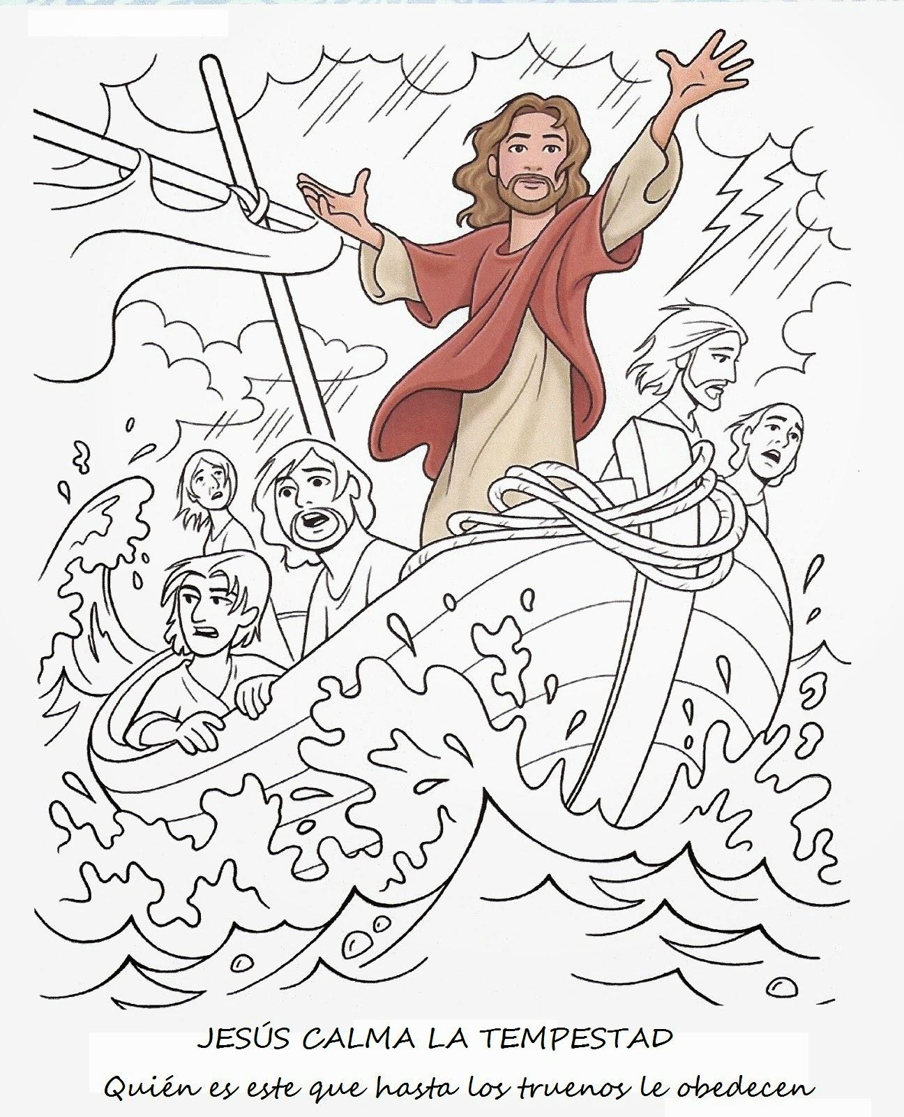 ME ABURRE LA RELIGION JESUS CALMA LA TEMPESTAD