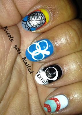 Expo 86 Nail Art