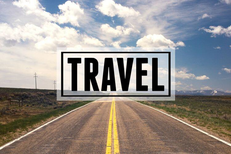 Category Page Header: Travel