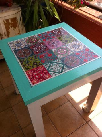 Valdeco - Mesas con azulejos ...