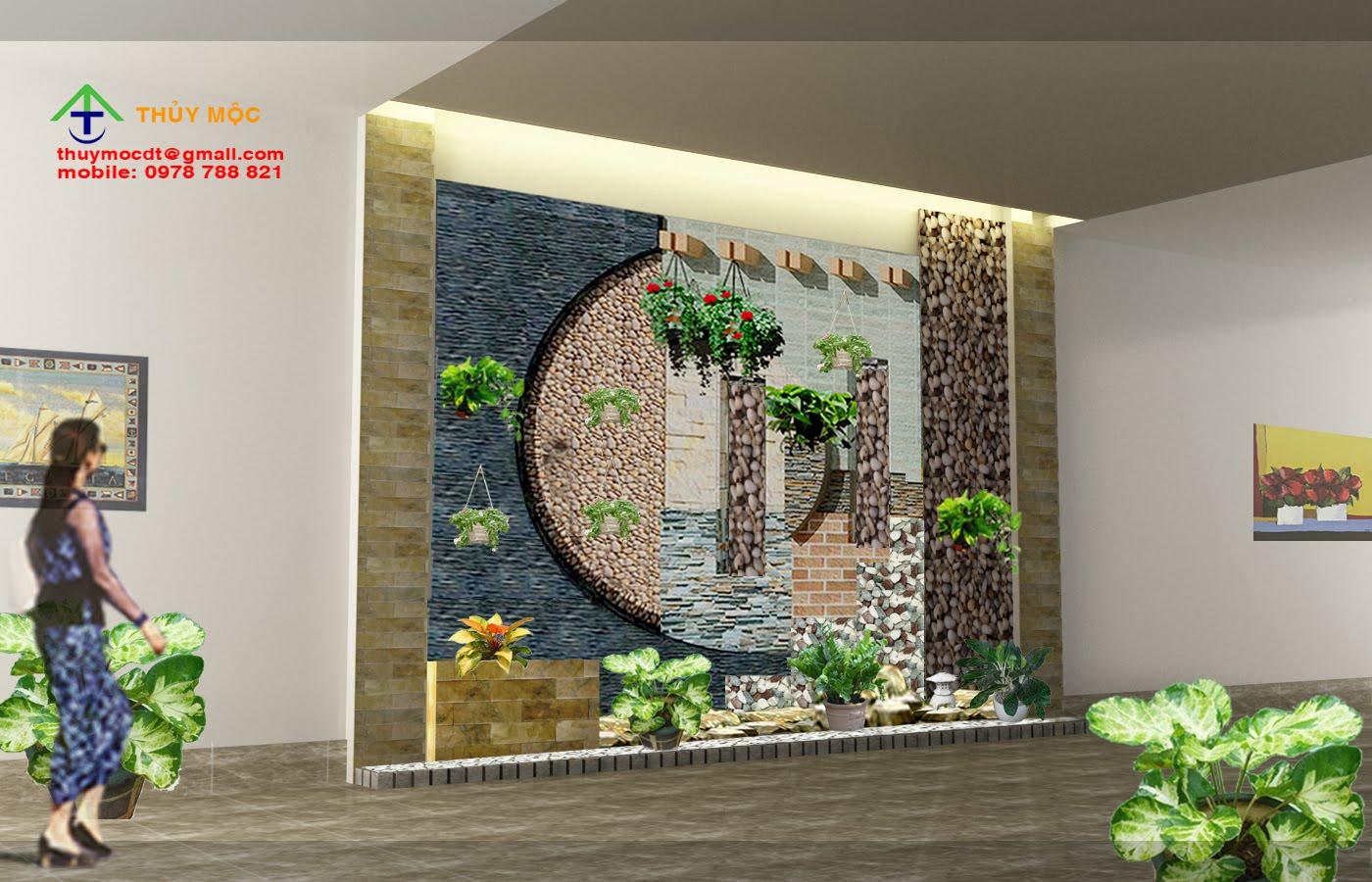 Chuyên thiết kế thi công Sân vườn, Tiểu cảnh, Thác nước, non bộ, đá tự nhiên