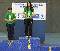 Juegos Deportivos Individuales 2013 Podio Infantil femenino