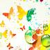Rainbow Butterflies Backgrounds 3