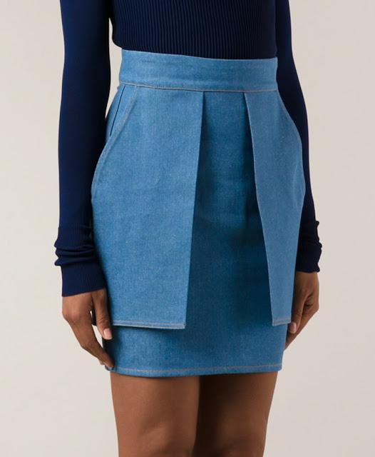 Denim Spring 2016 Eckhaus Latta Skirt