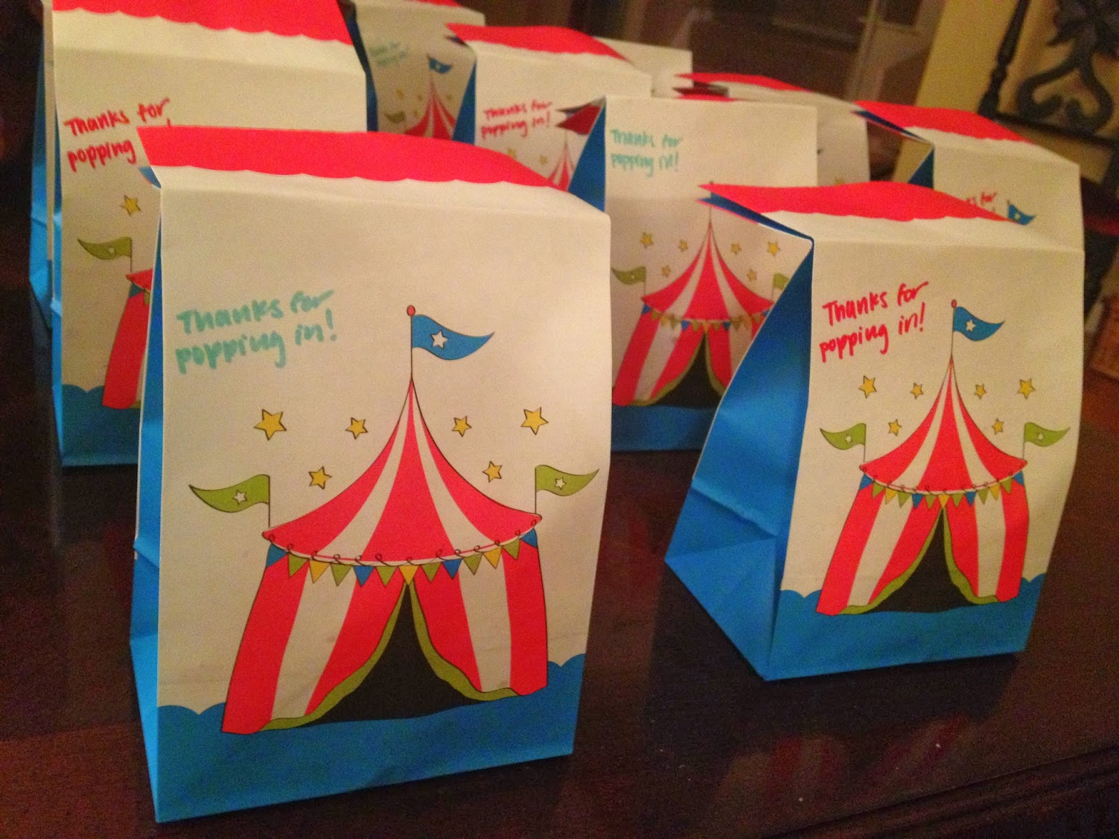 twins in the cities circus themed baby shower